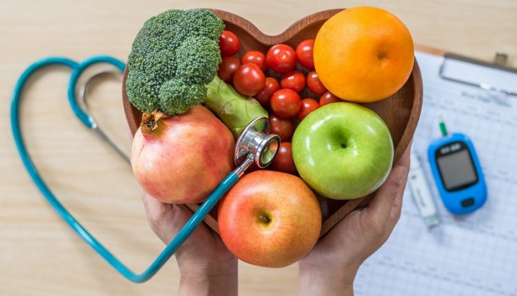 A group of foods suitable for seniors with diabetes