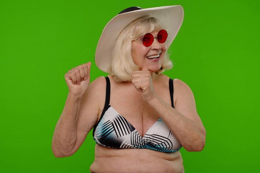 easy wear bra for senior