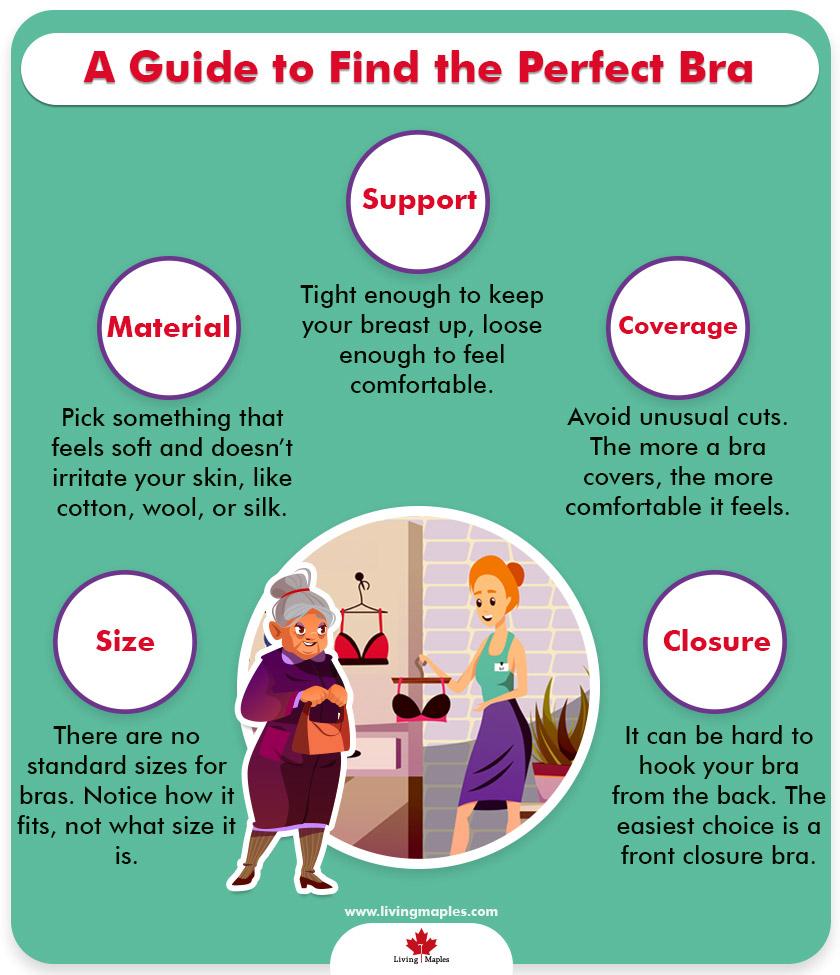 Easy Wear Bra for Senior Women